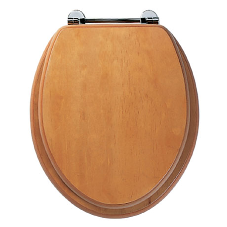 Roper Rhodes Axis Wooden Toilet Seat - Antique Pine