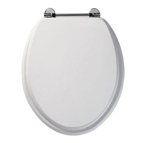 Roper Rhodes Axis Wooden Toilet Seat - White