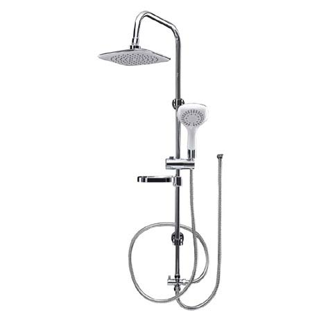 Aqualona Aquacapri Spa Shower Kit with Fixed Head & Handset - 80665