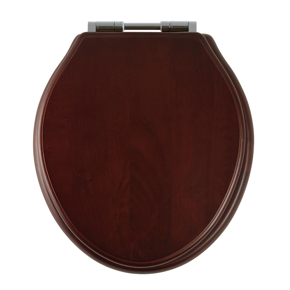 Roper Rhodes Greenwich Wooden Soft Close Toilet Seat - Various Colour Options Large Image