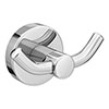 Orion Double Robe Hook - Chrome Small Image