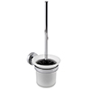 Orion Wall Mounted Toilet Brush & Holder - Chrome profile small image view 1