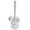 Orion Wall Mounted Toilet Brush & Holder - Chrome Small Image