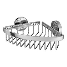 Orion Corner Soap Basket - Chrome Medium Image