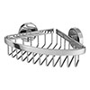 Orion Corner Soap Basket - Chrome Small Image