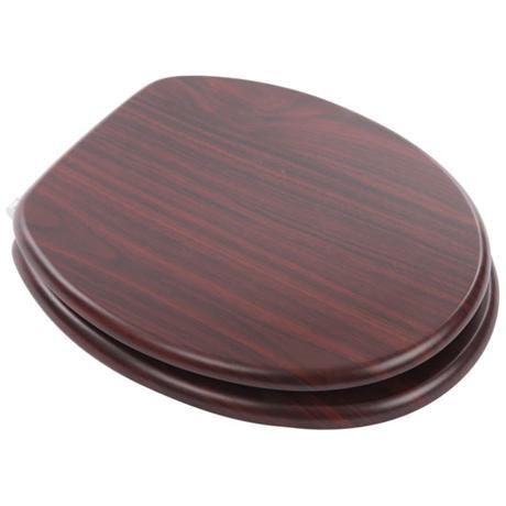 MDF Mahogany Wood Seat - 82981