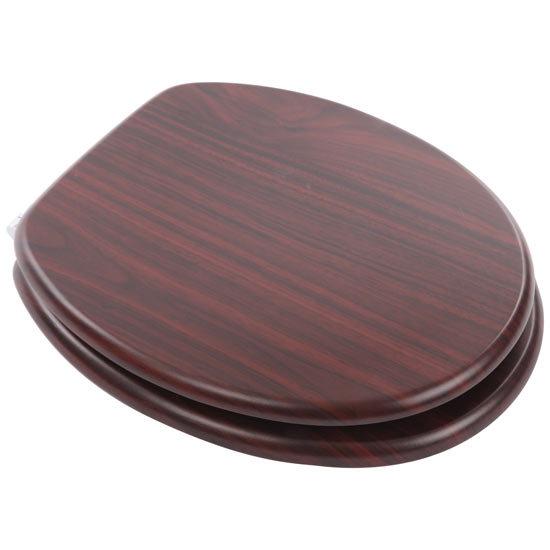 MDF Mahogany Wood Seat - 82981 Large Image