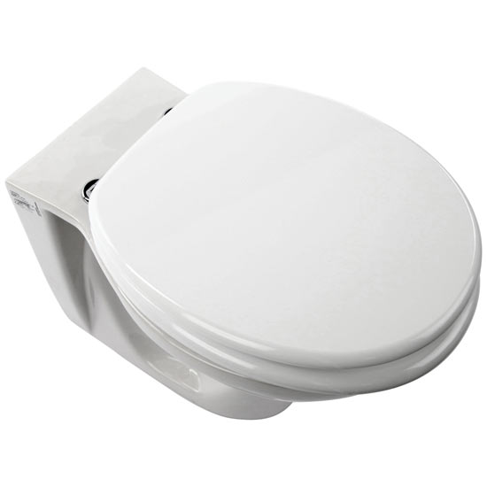 Euroshowers - MDF Anti Bacterial Toilet Seat - White - 82995 Large Image