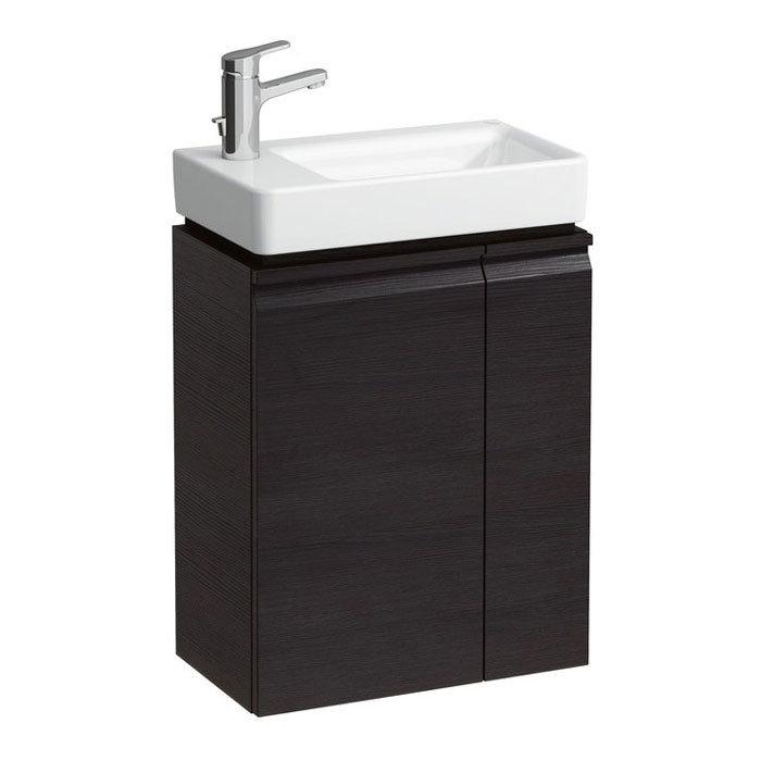 Laufen - Pro S Single Door Asymmetrical Vanity Unit and Basin - Left Hand Door - 4 x Colour Options