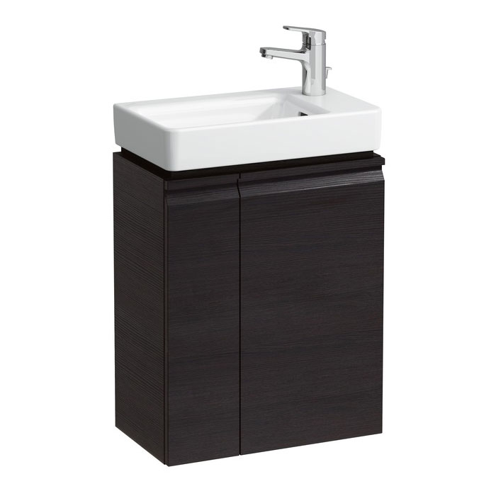 Laufen Pro S Single Door Asymmetrical Vanity Unit And