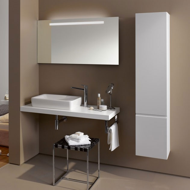 Laufen - Pro S 1650mm Tall Cabinet - Right Hand Hinge - 2 x Colour Options Profile Large Image