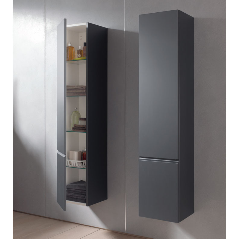 Laufen - Pro S 1650mm Tall Cabinet - Right Hand Hinge - 2 x Colour Options Feature Large Image