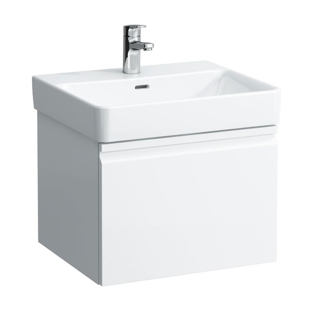 Laufen - Pro S 520mm 1 Drawer Vanity Unit and Basin - 2 x Colour Options Large Image