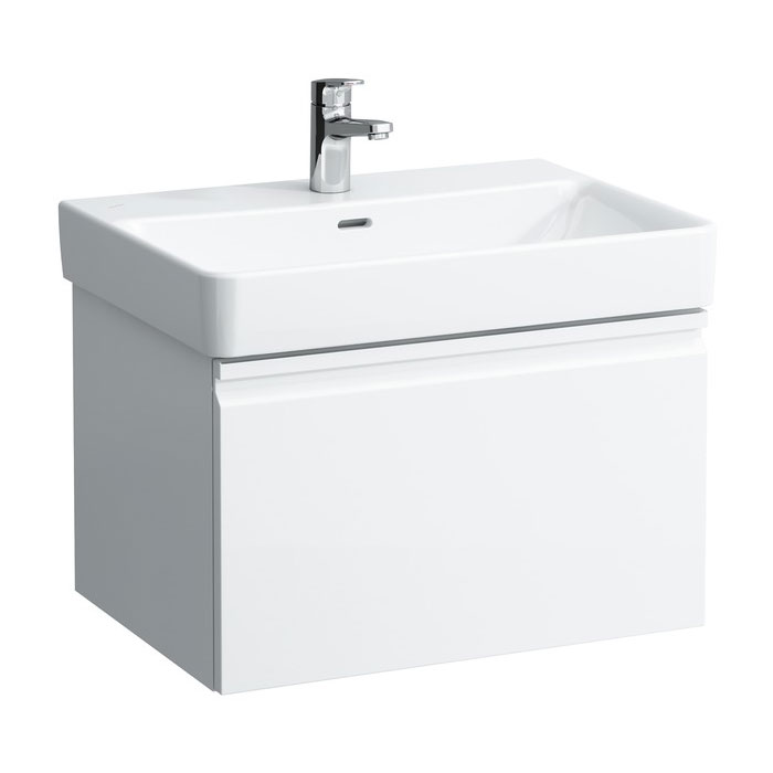 Laufen - Pro S 620mm 1 Drawer Vanity Unit and Basin - 2 x Colour Options Large Image