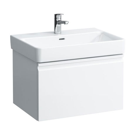 Laufen - Pro S 620mm 1 Drawer Vanity Unit and Basin - 2 x Colour Options