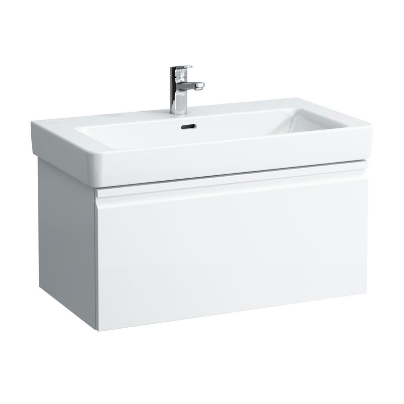 Laufen - Pro S 810mm 1 Drawer Vanity Unit and Basin - 2 x Colour Options profile large image view 1