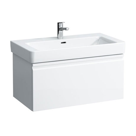 Laufen - Pro S 810mm 1 Drawer Vanity Unit and Basin - 2 x Colour Options