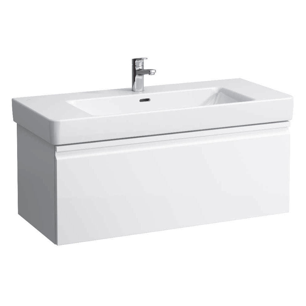 Laufen - Pro S 1010mm 1 Drawer Vanity Unit and Basin - 2 x Colour Options Large Image