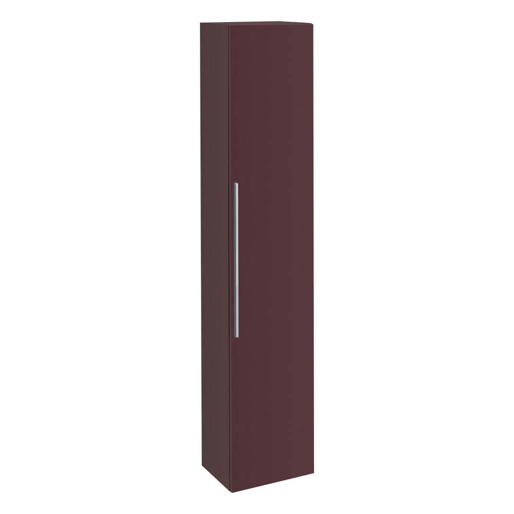 Twyford 3D Tall Cabinet - Plum profile large image view 1
