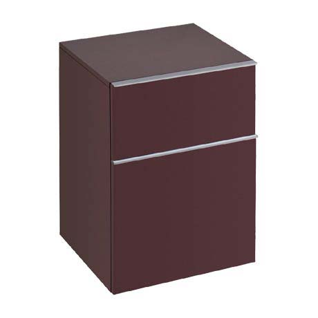 Twyford 3D Side Cabinet - Plum