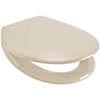 Euroshowers Rainbow Soft Close Toilet Seat - Cream - 84400 profile small image view 1