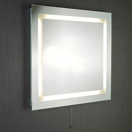 Searchlight Illuminated Rectangular Mirror - 8510