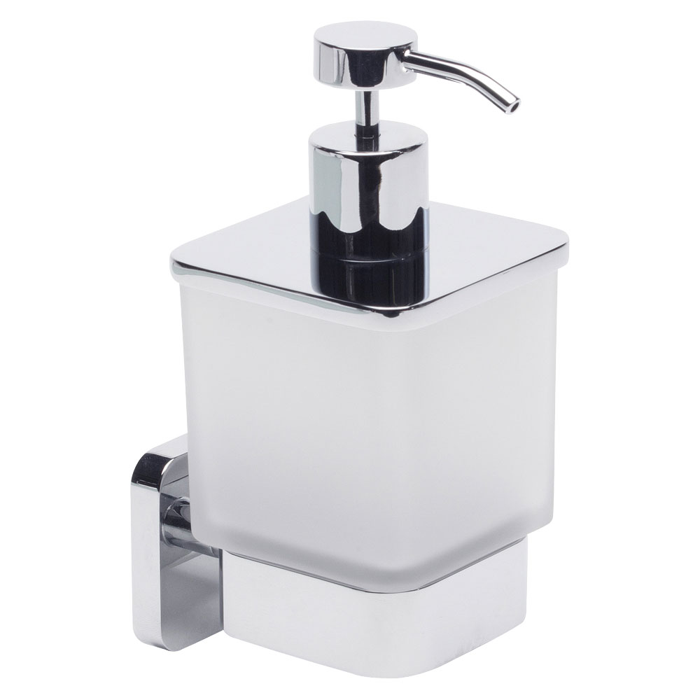 Roper Rhodes Ignite Frosted Glass Soap Dispenser - 8515.02 profile large image view 1
