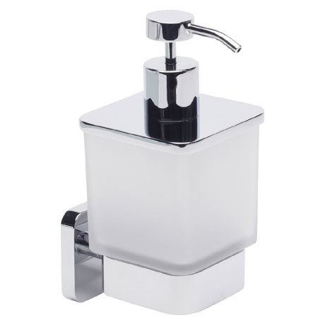 Roper Rhodes Ignite Frosted Glass Soap Dispenser - 8515.02