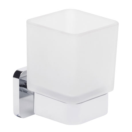 Roper Rhodes Ignite Frosted Glass Toothbrush Holder - 8516.02