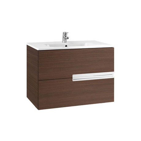 Roca - Victoria-N Unik 2 Drawer Vanity Unit with 800mm Basin - 4 x Colour Options