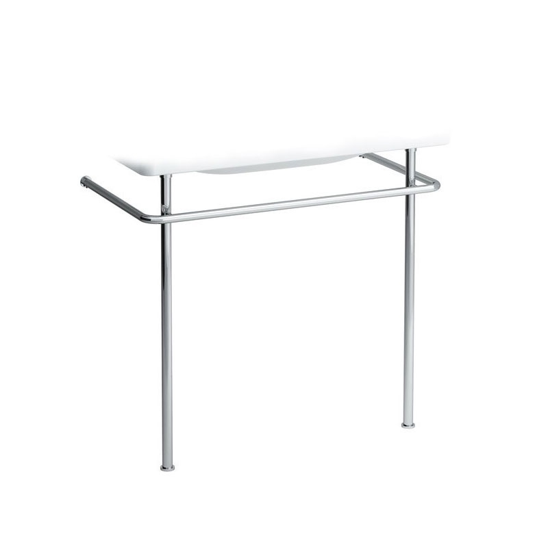 Laufen - Chrome Towel Frame For Pro 850mm Basin - 90956 profile large image view 1