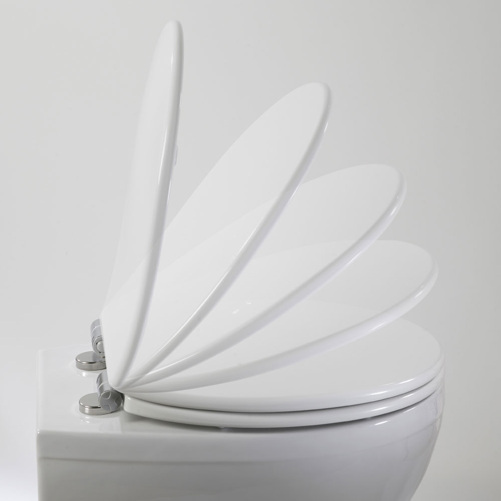 Roper Rhodes Elite Soft Close Toilet Seat Standard Large Image