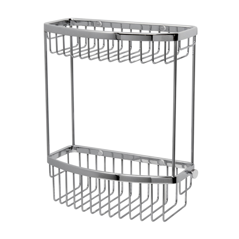 Miller - Classic 2-Tier D-Shaped Basket - 865C Large Image