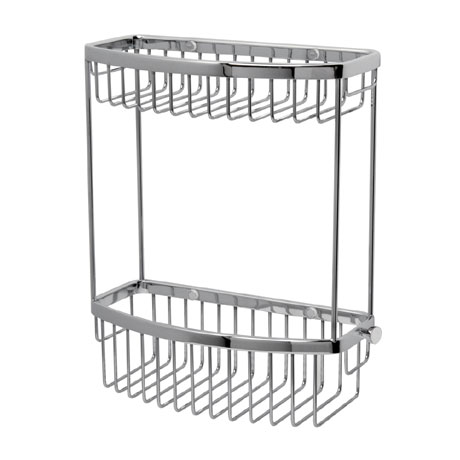 Miller - Classic 2-Tier D-Shaped Basket - 865C
