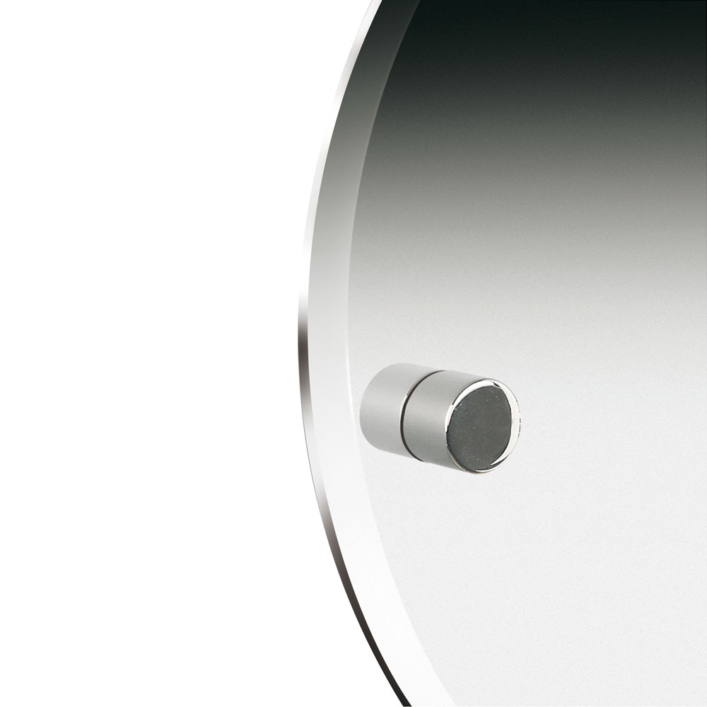 Miller - Bond 450mm Round Bevelled Wall Mirror - 8700C profile large image view 2