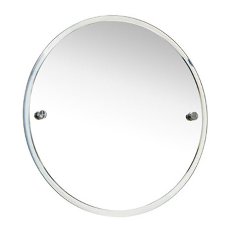 Miller - Bond 450mm Round Bevelled Wall Mirror - 8700C Large Image