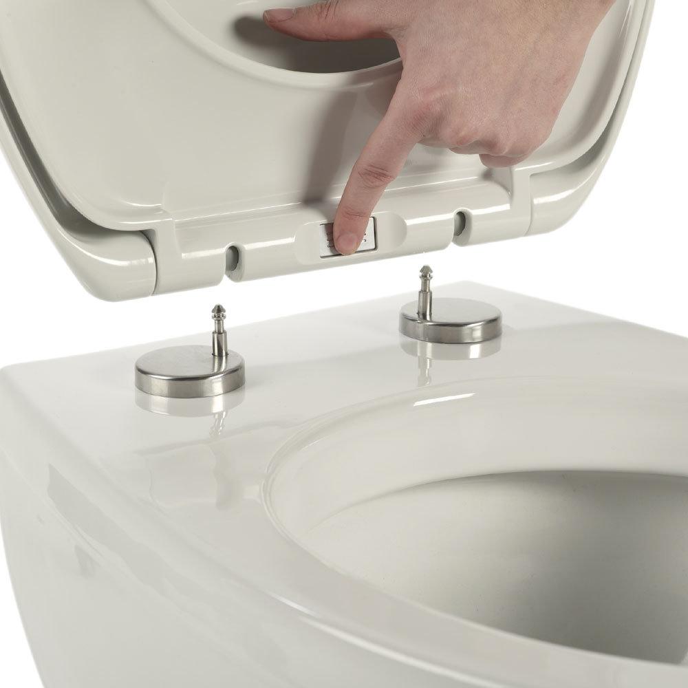 Roper Rhodes Mercury Soft Close Toilet Seat profile large image view 3