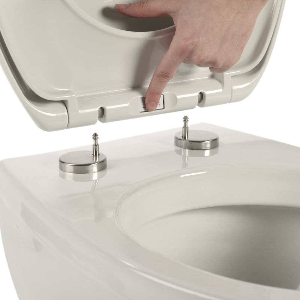 Roper Rhodes Zenith Soft Close Toilet Seat profile large image view 4