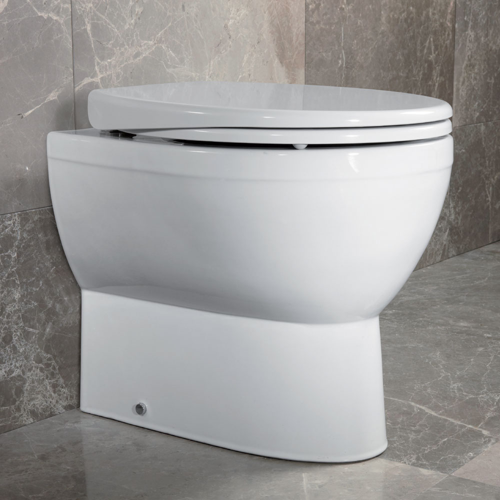 Roper Rhodes Mercury Soft Close Toilet Seat profile large image view 4