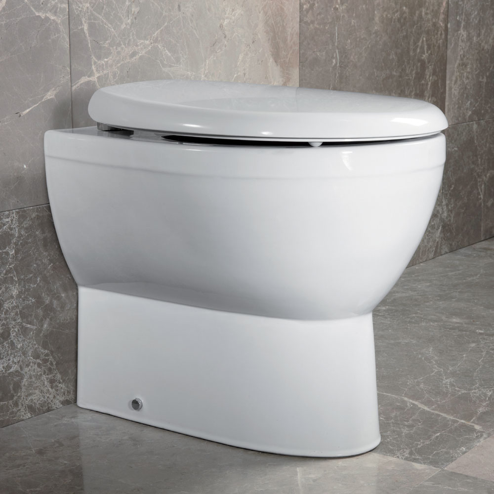 Roper Rhodes Zenith Soft Close Toilet Seat profile large image view 3