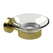Miller Bond Brushed Brass Soap Dish - 8704MP1 Medium Image