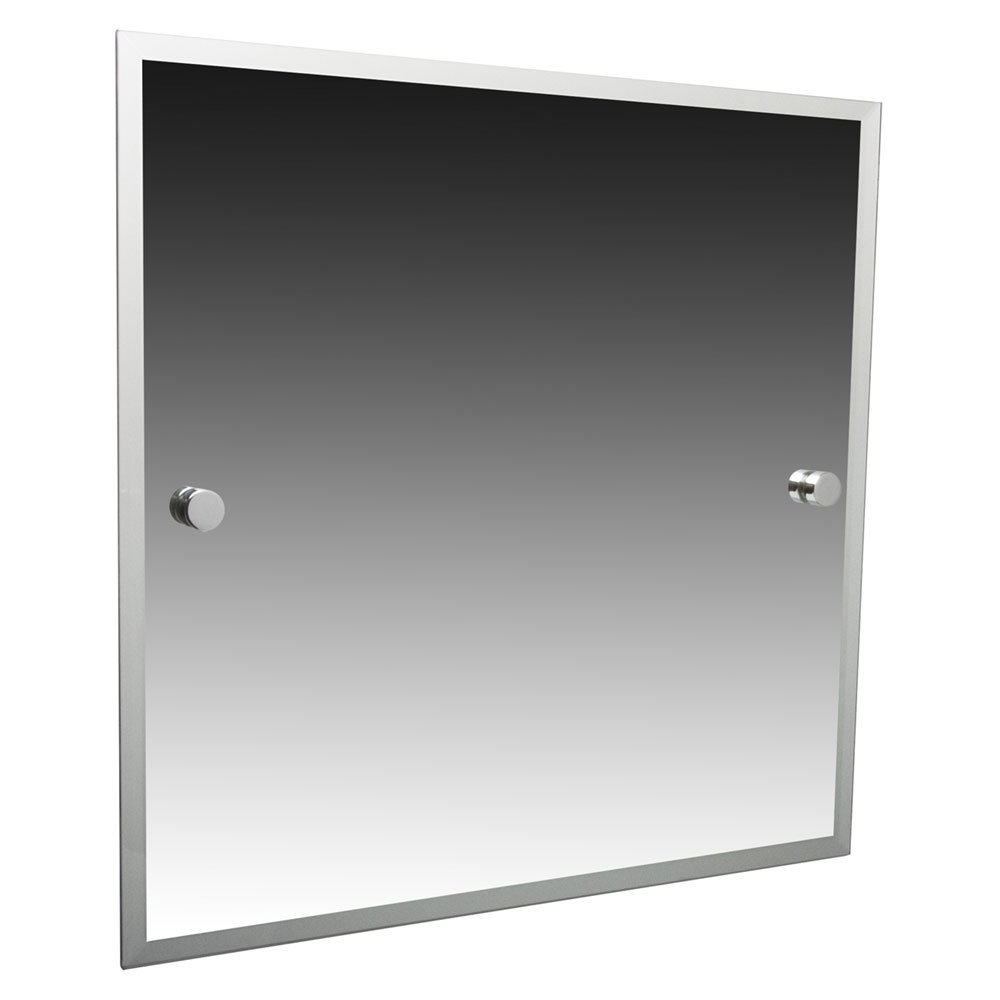 Miller - Atlanta 420 x 500mm Bevelled Mirror - 8800C Large Image