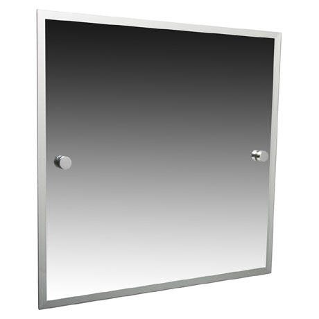 Miller - Atlanta 420 x 500mm Bevelled Mirror - 8800C