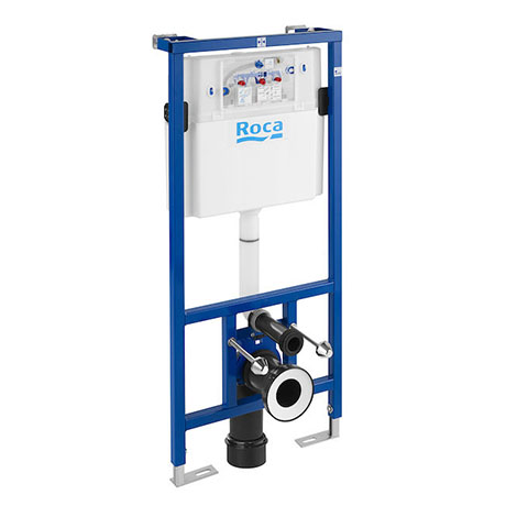 Roca Duplo WC Frame with Dual Flush Cistern for Wall Hung Toilets