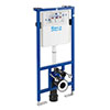 Roca Duplo WC Frame with Dual Flush Cistern for Wall Hung Toilets profile small image view 1