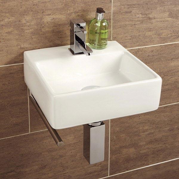 HIB Sabai Washbasin with Towel Rail - 8910 Large Image