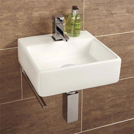 HIB Sabai Washbasin with Towel Rail - 8910