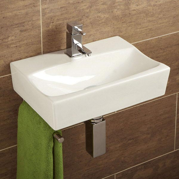 HIB Murcia Washbasin with Towel Rail - 8921 Large Image