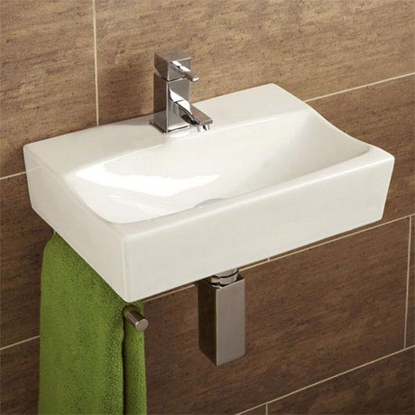 HIB Murcia Washbasin with Towel Rail - 8921