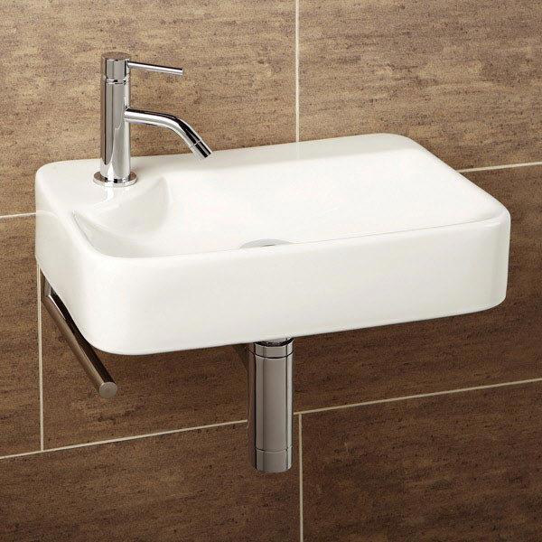 HIB Lugo Washbasin with Towel Rail - 8932 Large Image